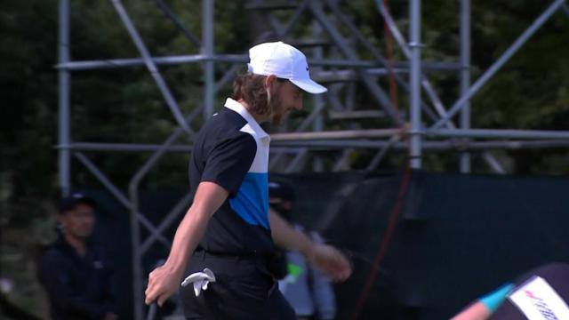 Today's Top Plays: Tommy Fleetwood's bunker chip-in tops Shots of the Week.