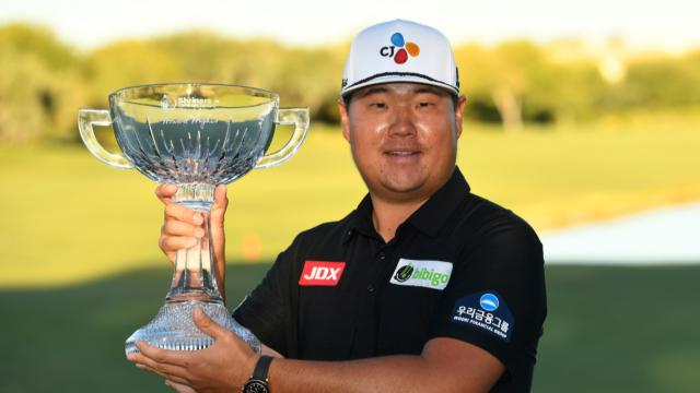 Sungjae Im's 9-under 62 propels him to second career win at Shriners