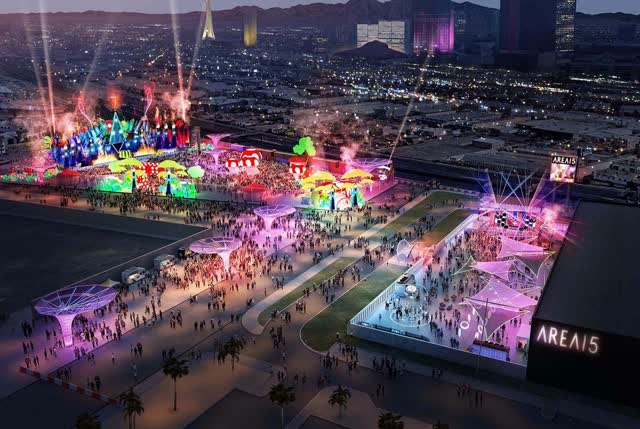 Las Vegas Review Journal News | Area15 adding concert, events space for crowds of 20K
