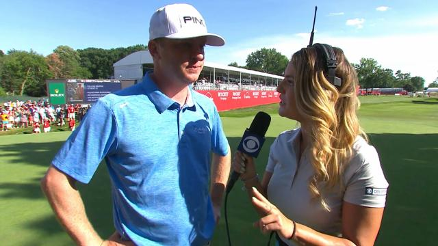 Nate Lashley's interview after winning Rocket Mortgage