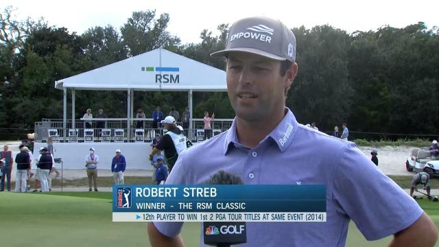 PGA TOUR | Robert Streb interview after Round 4 of The RSM Classic