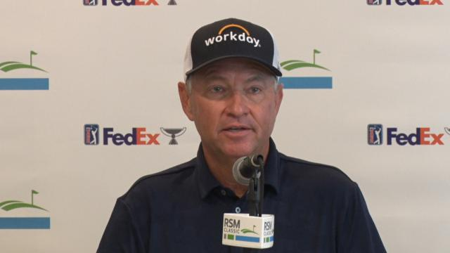 Davis Love III on latest P-Cup pick before The RSM Classic