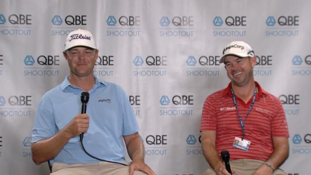 Kizzire and Harman comment before QBE Shootout