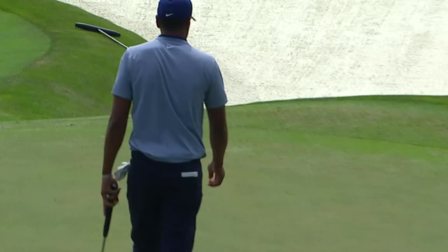 Tony Finau cards opening birdie at THE PLAYERS