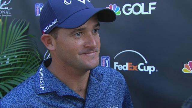 Sam Saunders interview after Round 2 of Arnold Palmer