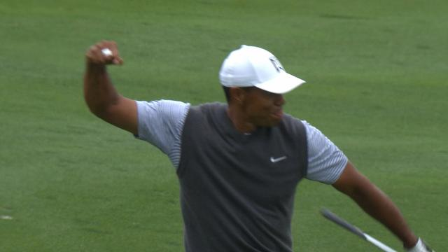 Today's Top Plays: Tiger Woods' eagle hole out leads Shots of the Week