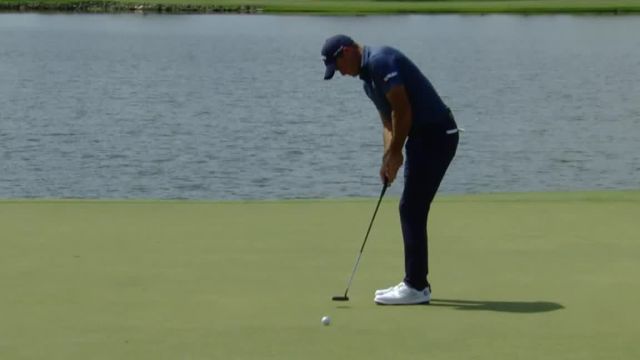 Sam Saunders rolls in 11-footer for birdie at Arnold Palmer