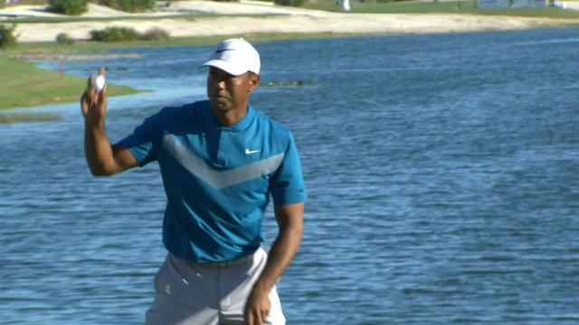 Tiger Woods' Round 3 highlights from Hero