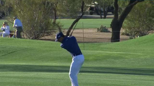 Billy Horschel nearly holes out for eagle at Waste Management