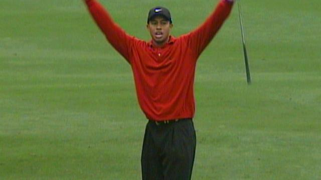 Tiger Woods' victory in 2000 U.S. Open at Pebble Beach