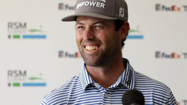 Robert Streb's interview after Round 2 of The RSM Classic