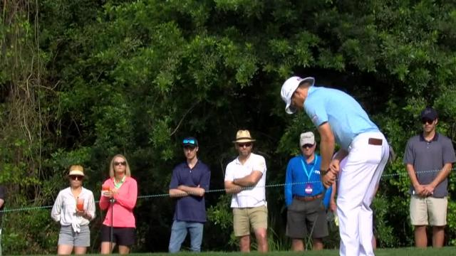 Peter Malnati uses nice approach to set up birdie at Valspar