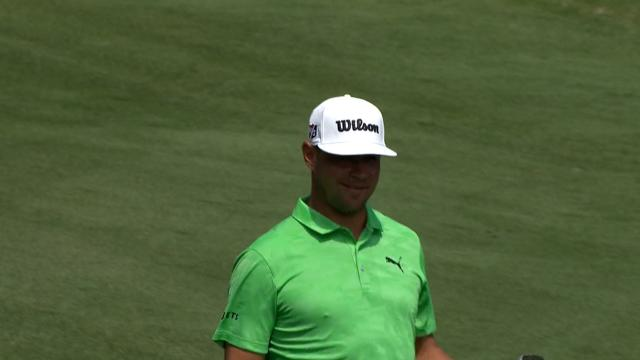 Today's Top Plays: Gary Woodland dunks approach for eagle is the Shot of the Day