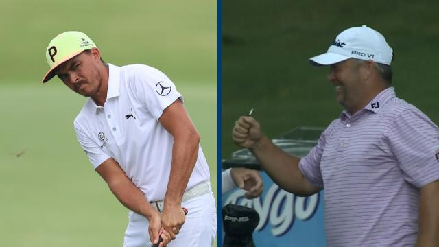 Today's Top Plays: Rickie Fowler and Dudley Hart lead Shots of the Week