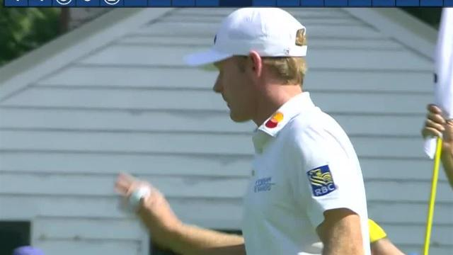 Brandt Snedeker uses nice tee shot to set up birdie at Rocket Mortgage