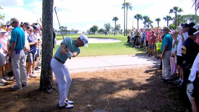 Today's Top Plays: Justin Thomas' eagle from the pine straw leads Shots of the Week