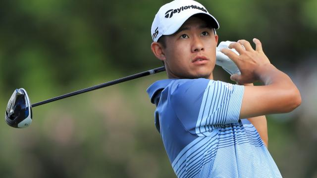 Collin Morikawa leads by two at the Sony Open