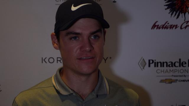 Kristoffer Ventura comments after Round 3  at Pinnacle Bank
