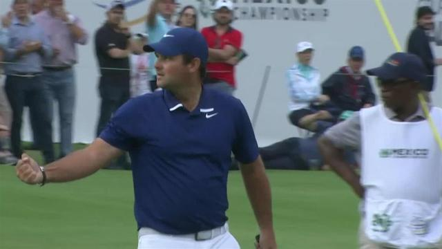 Patrick Reed sinks 19-footer for birdie at WGC-Mexico