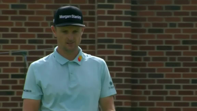 Justin Rose dials in tee shot to yield birdie at Charles Schwab
