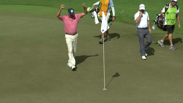 Today's Top Plays: Matt Kuchar's ace leads Shots of the Week