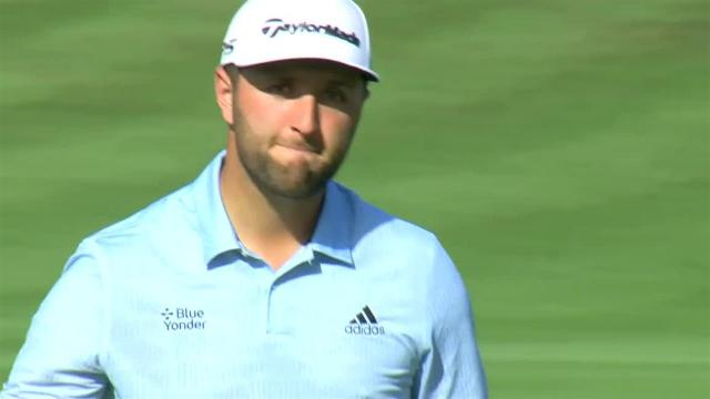 Jon Rahm's 32-foot birdie putt at THE PLAYERS