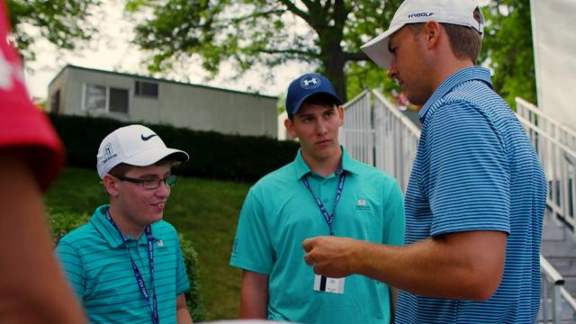 Jordan Spieth receives 2020 Arnie Award