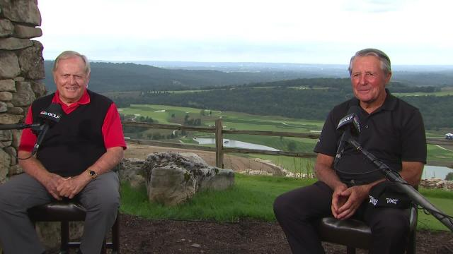 PGA TOUR | Jack Nicklaus and Gary Player interview at Payne's Valley Cup