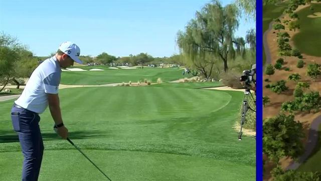 Cameron Smith gets up-and-down for birdie at Waste Management
