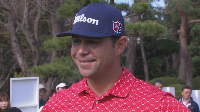 Gary Woodland's interview after Round 4 of ZOZO