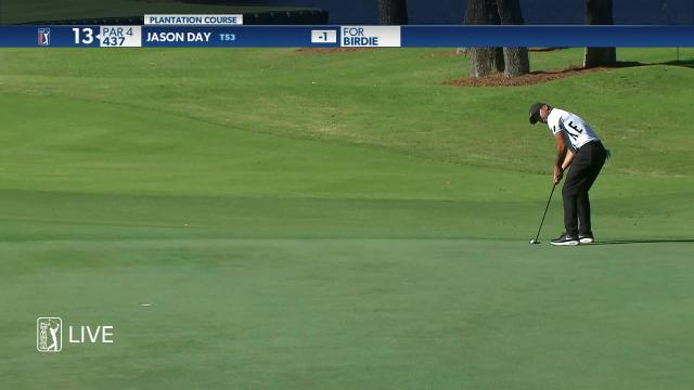 PGA TOUR | Jason Day makes birdie on No. 13 in Round 2 at The RSM Classic