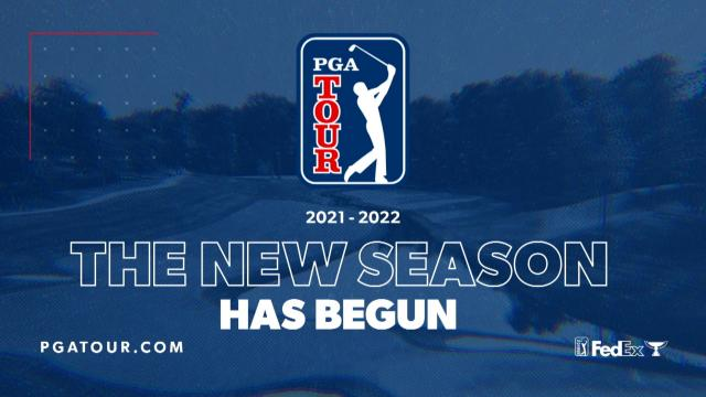 2021-22 FedExCup Season Has Begun