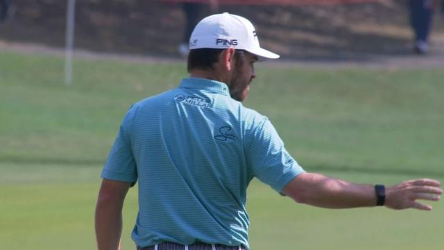 Louis Oosthuizen's approach yields birdie putt at WGC-HSBC Champions
