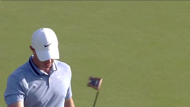 Rory McIlroy drains 25-foot birdie putt at THE PLAYERS