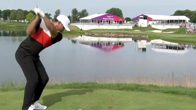 Brooks Koepka nearly aces No. 17 at 3M