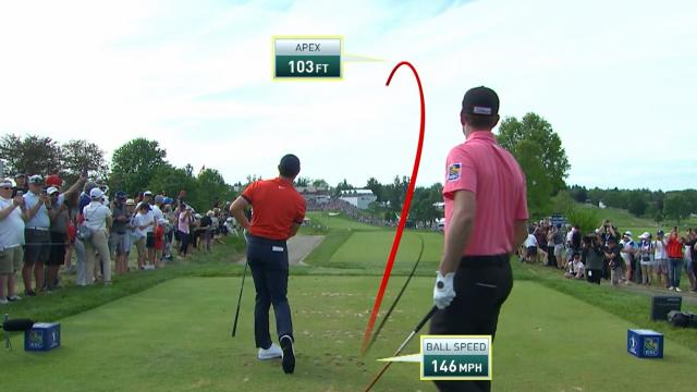 Best shot trails from Rory McIlroy at RBC Canadian Open