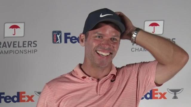 Paul Casey on his return to golf at Travelers