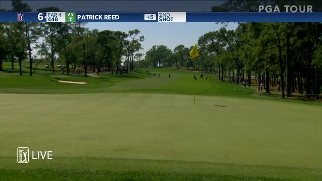 Patrick Reed uses nice approach to set up birdie at Valspar