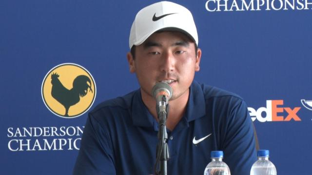 Doug Ghim speaks about young winners before Sanderson Farms
