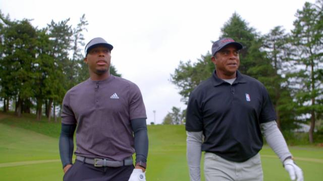 Kyle Lowry and Ahmad Rashad play host course for ZOZO CHAMPIONSHIP