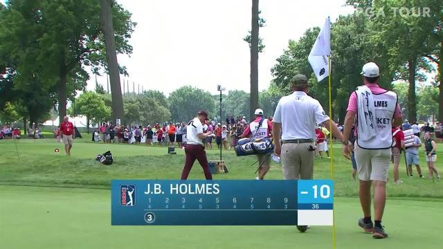 J.B. Holmes sticks approach to 5 feet at Rocket Mortgage