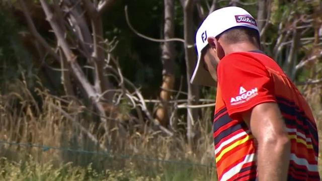 Troy Merritt's approach to 6 feet yields birdie at Barracuda Championship
