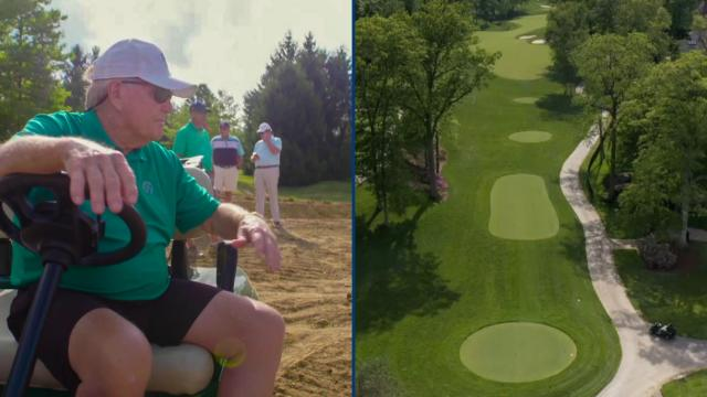 All-access story of the redesigned par-5 15h hole at Muirfield Village