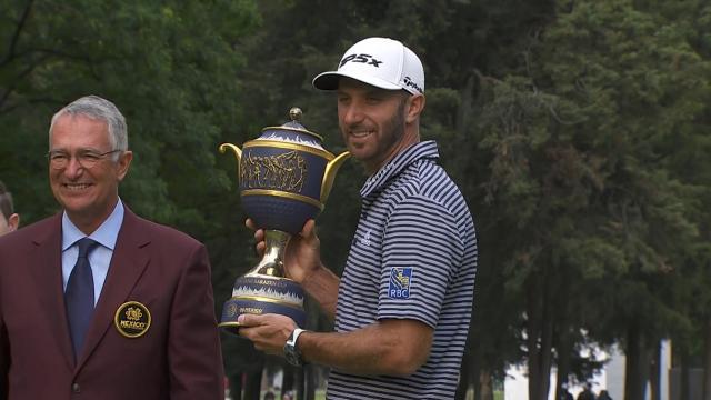 Dustin Johnson's 20th PGA TOUR win