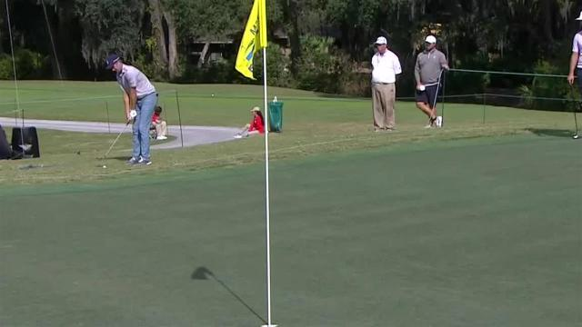 Brendon Todd's birdie chip shot at The RSM Classic