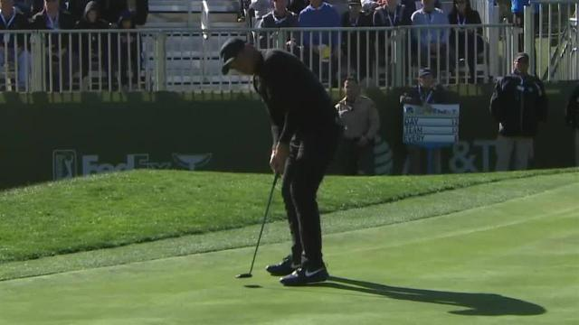 Jason Day's good kick leads to birdie at AT&T Pebble Beach