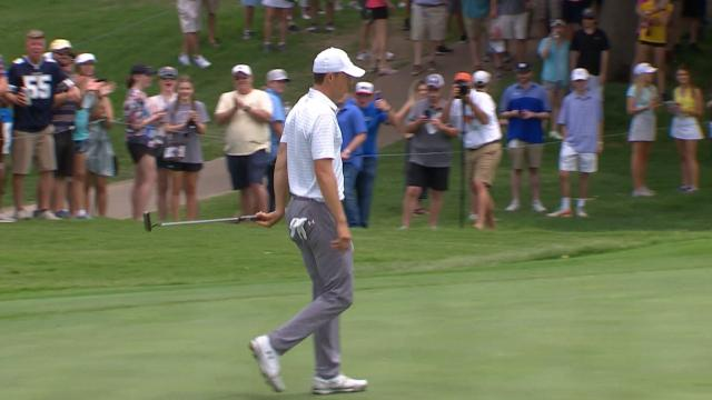 Today's Top Plays: Jordan Spieth's 37-foot birdie putt for Shot of the Day