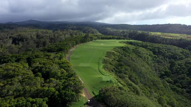 Flyover: Plantation Course at Kapalua