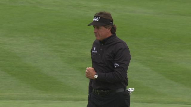 Phil Mickelson's all-time shots at Pebble Beach