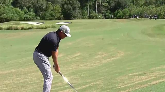 D.A. Points' 188-yard approach sets up birdie putt at Houston Open